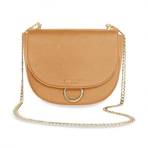 Katie Loxton Lucia Saddle Bag Tan