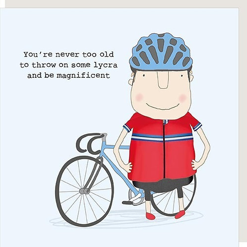 Lycra And Be Magnificent Card