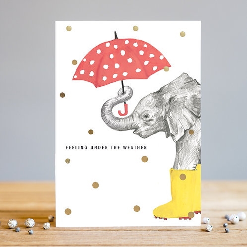 Under The Weather Card