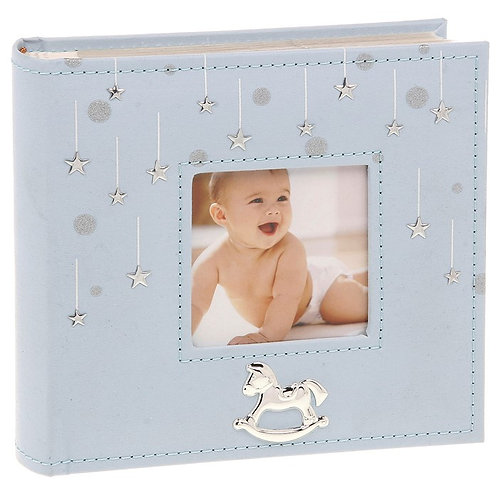 Little Stars Blue Photo Album