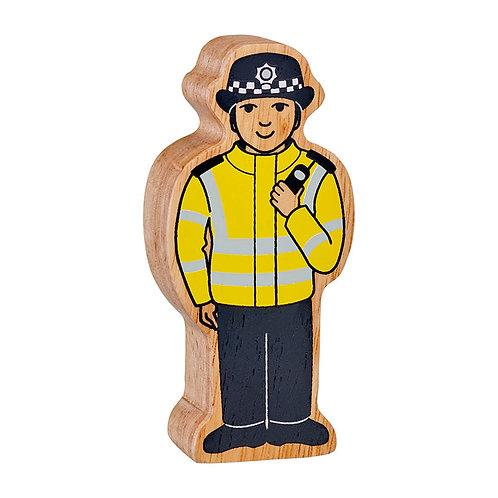 Lanka Kade Natural Yellow & Black Policewoman