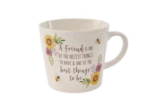 Full Bloom Friend Mug