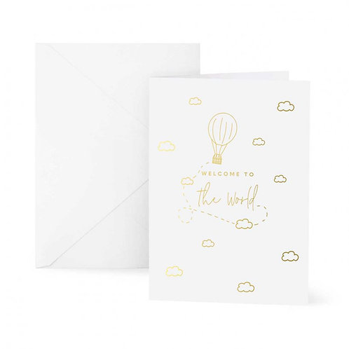 Katie Loxton Welcome To The World Card
