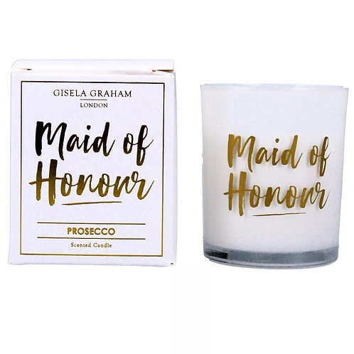 Maid of Honour Candle