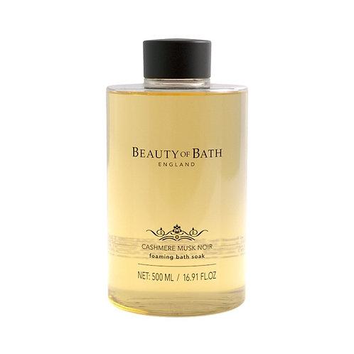 Beauty of Bath Foaming Bath Soak - Cashmere Musk Noir