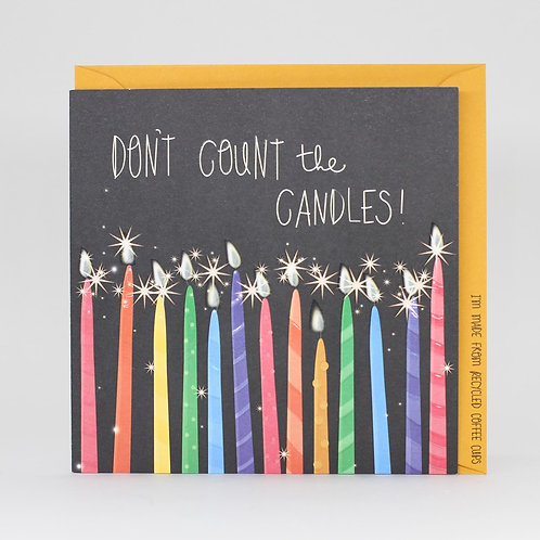 Don't Count The Candles Card