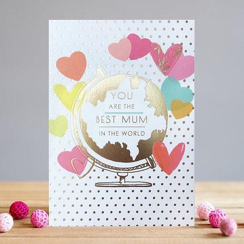 Best Mum In The World Card