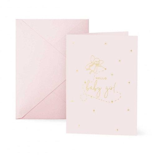 Katie Loxton Hello Baby Girl Card