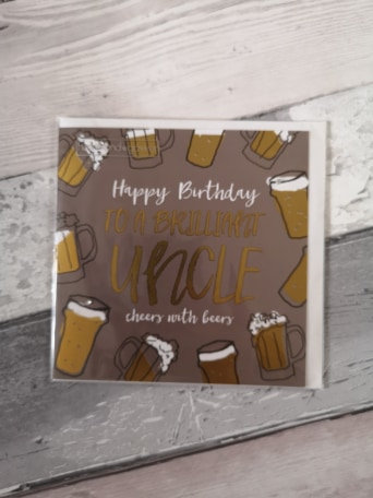 Brilliant Uncle Birthday Card