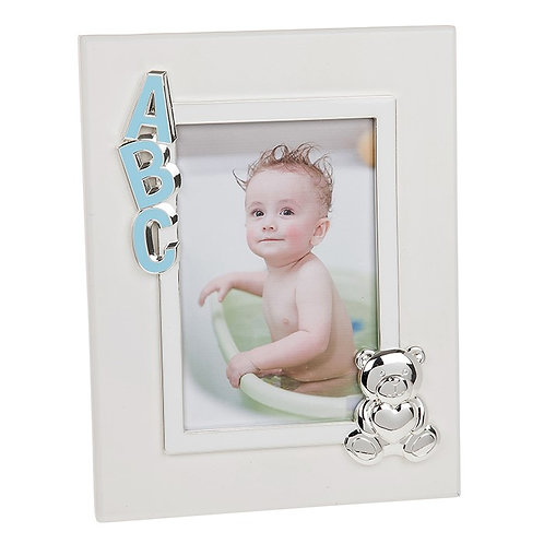 Blue ABC Photo Frame