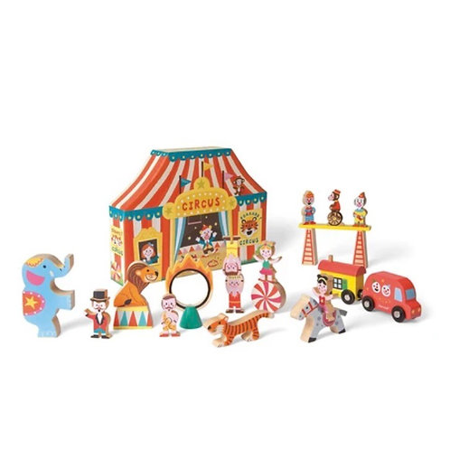 Janod Story Box Circus Set