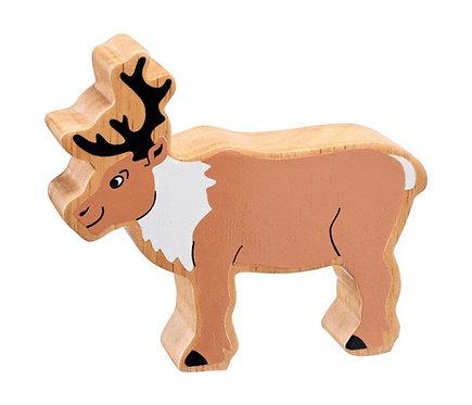 Lanka Kade Natural Brown and White Reindeer
