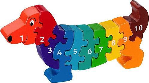 Lanka Kade Jumbo dog 1-10 Jigsaw