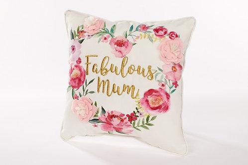 Floral Mum Cushion