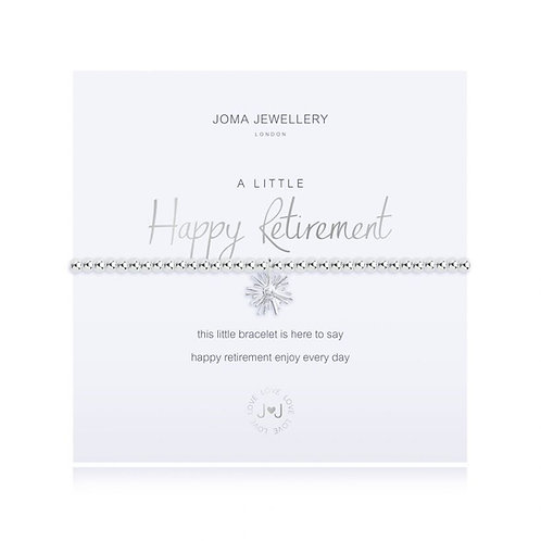 Joma A Little Happy Retirement Bracelet