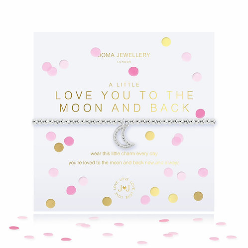 Joma A Little Love You To The Moon and Back Bracelet With Confetti