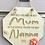 Thumbnail: Best Nanna Too Wooden Hanging Sign