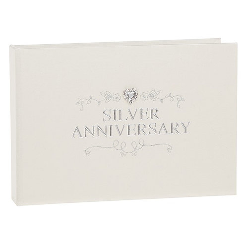 Jewel Silver Wedding Anniversary Album