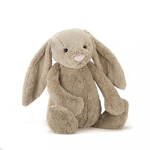 Jellycat Beige Bashful Bunny Huge