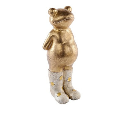 Gold Welly Frog