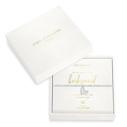Joma Bridesmaid Boxed Bracelet