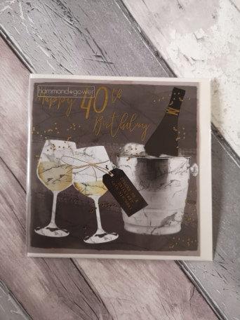 Cheers - 40th Birthday