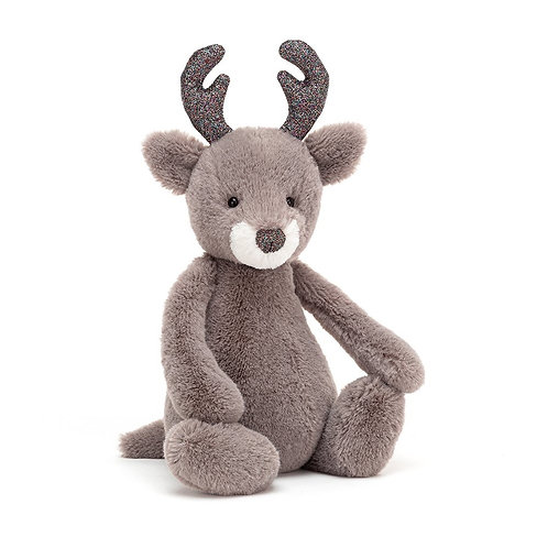 Jellycat Bashful Glitz Reindeer