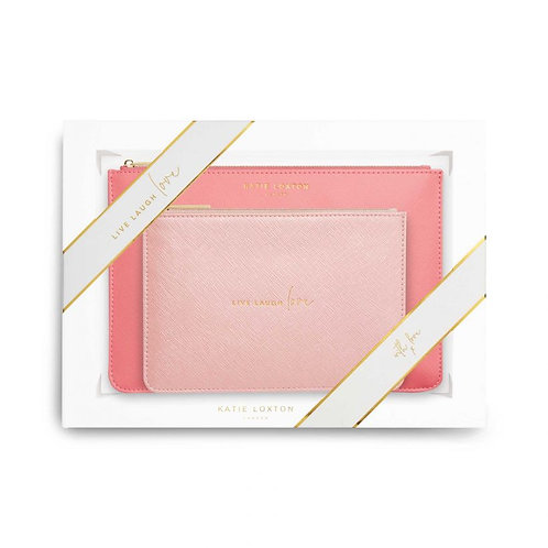 Katie Loxton Live Laugh Love Perfect Pouch Gift Set
