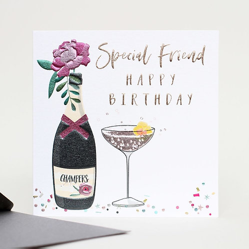 Special Friend Happy Birthday Card