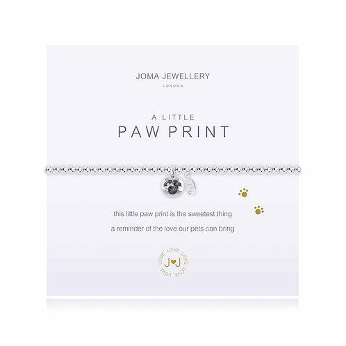 Joma A Little Paw Print Bracelet