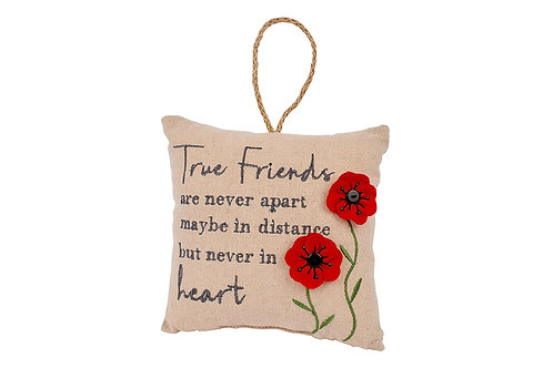 True Friends Poppy Cushion