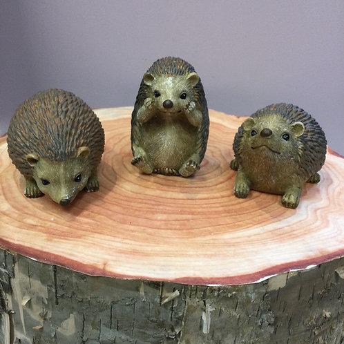 Resin Hedgehog Ornament