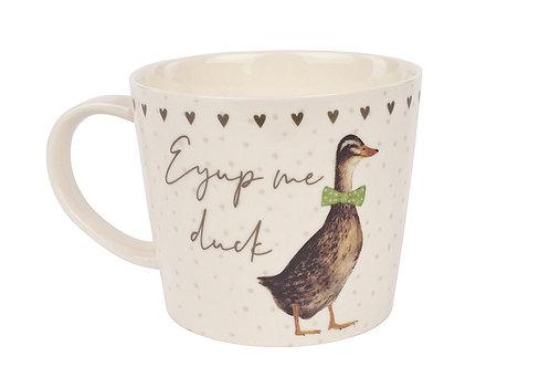 Ey Up Duck Mug