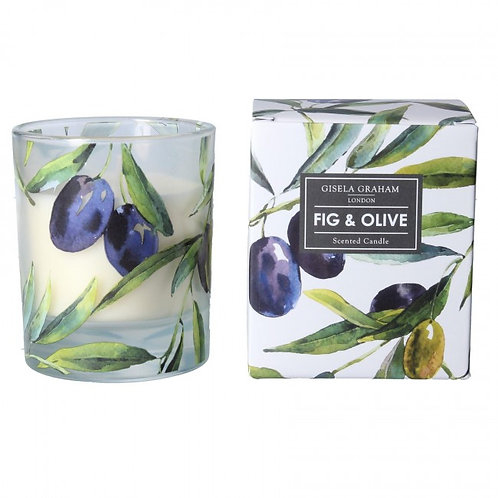 Fig And Olive Scented Candle