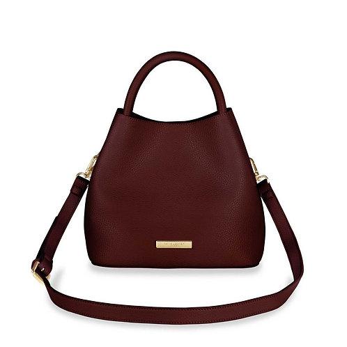 Katie Loxton Burgundy Sienna Slouch Bag