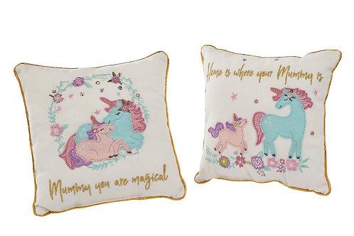 Unicorn Mum Cushion