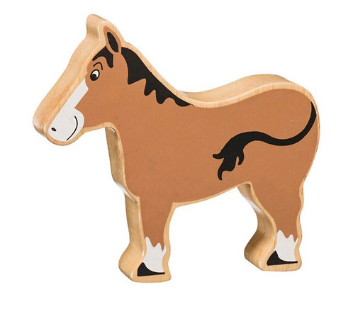 Lanka Kade Natural Brown Horse