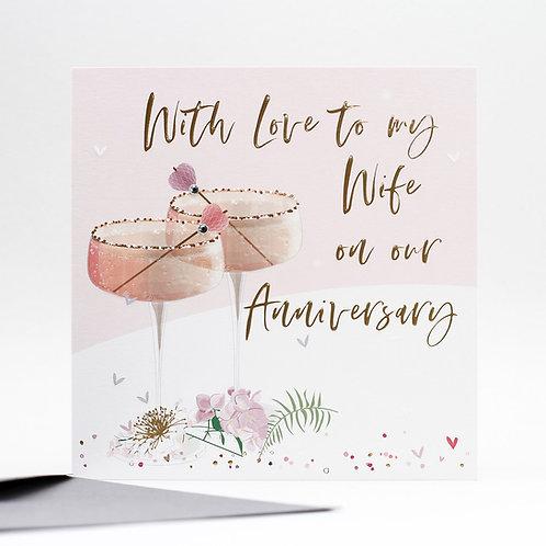 Wife Anniversary Card
