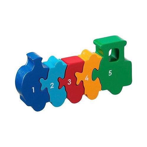 Lanka Kade 1-5 Train Puzzle