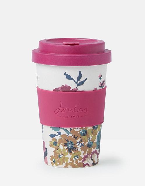 Joules Floral Bamboo Travel Mug