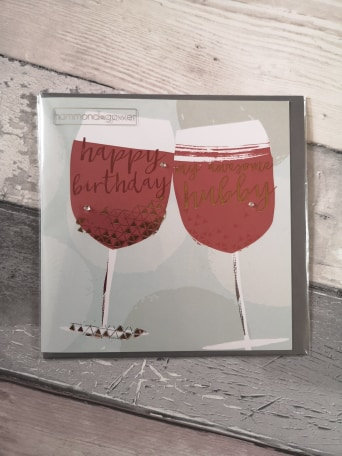 Awesome Hubby - Glasses Design Card