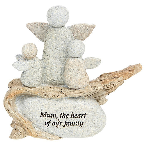 Mum Pebble Decoration
