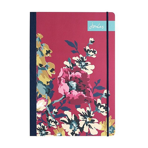 Joules Cambridge Floral Flexi A5 Notebook