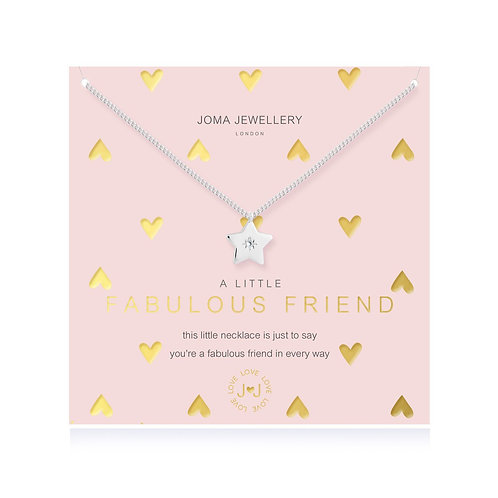 Joma A Little Fabulous Friend Necklace
