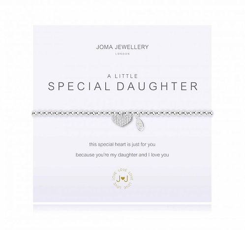 Joma A Little Special Daughter Bracelet