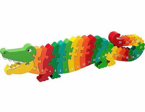 Lanka Kade Crocodile 1-25 Jigsaw
