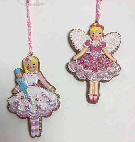 Gingerbread Fairy Decoration