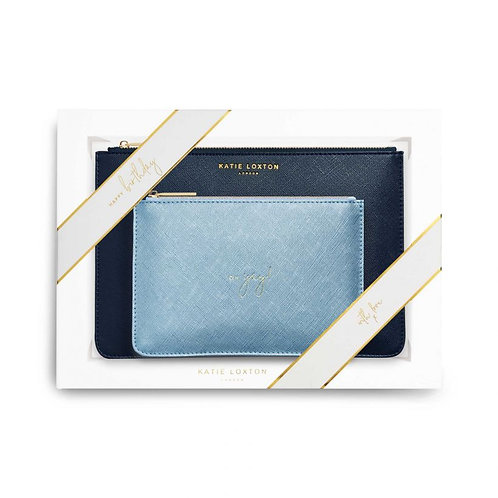 Katie Loxton Happy Birthday Perfect Pouch Gift Set