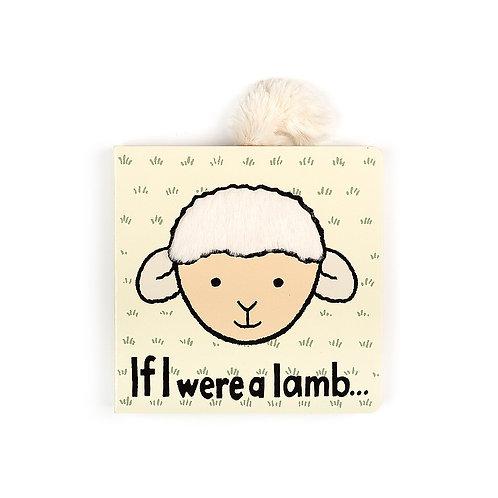 Jellycat If I were a lamb... book