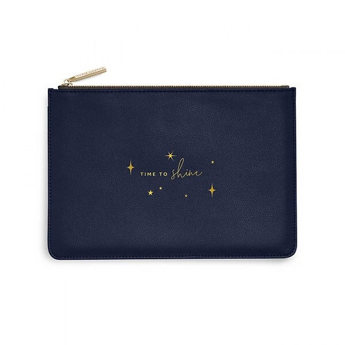 Katie Loxton Time To Shine Navy Perfect Pouch